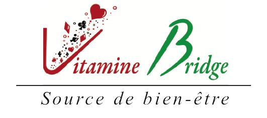 Logo Vitamine Bridge Handi bridge, source de bien-être